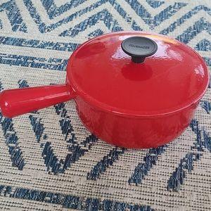 Vintage Le creuset (Cousances) sauce pot